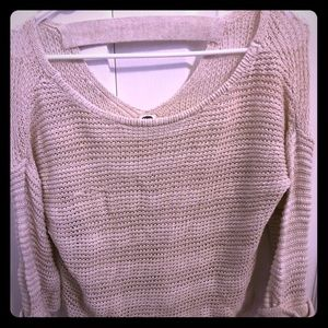 Roxy size medium v-neck top/ sweater